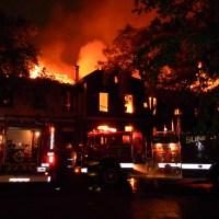 Incendio en la Estación Victoria – Provincia de Buenos Aires