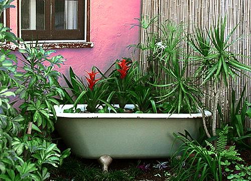 пруд из ванны 3