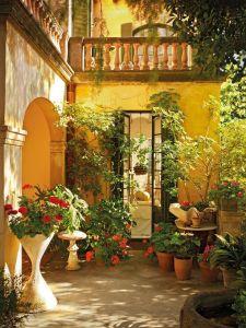 Дизайн мексиканского дворика