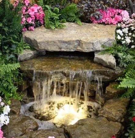 Водопад на даче