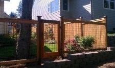 Забор секционный из сетки