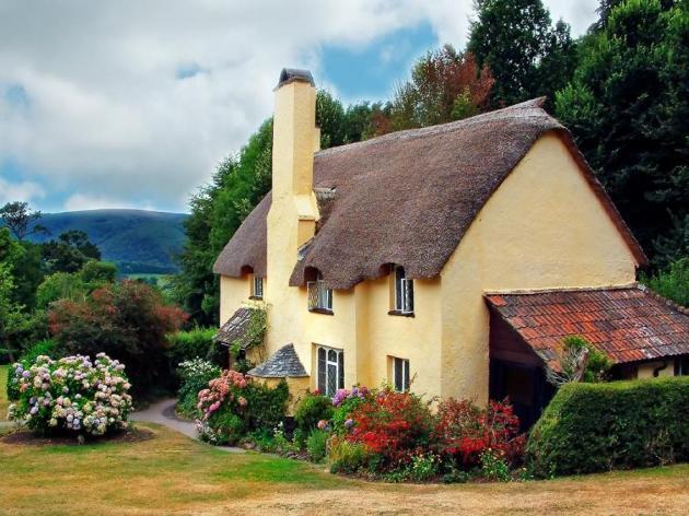 дом с соломенной крышей 6