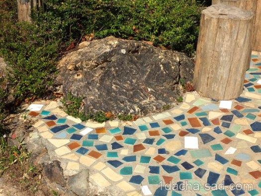 мозаика из битой плитки (3)