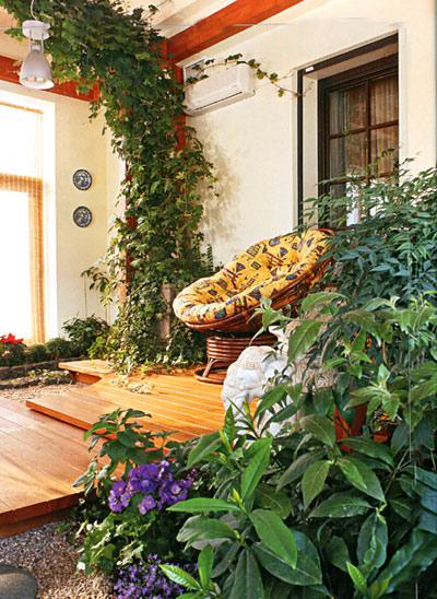 зимний сад в доме (5)