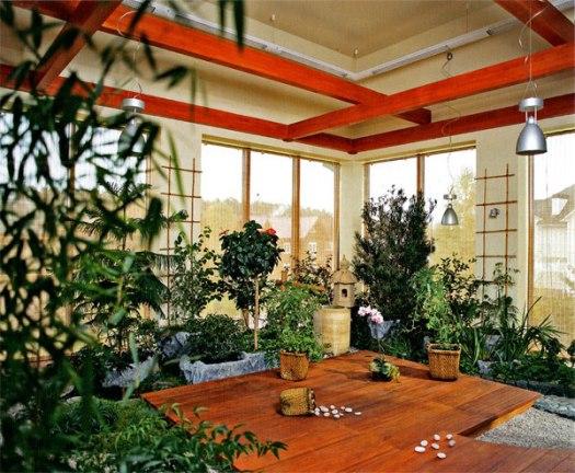зимний сад в доме (4)