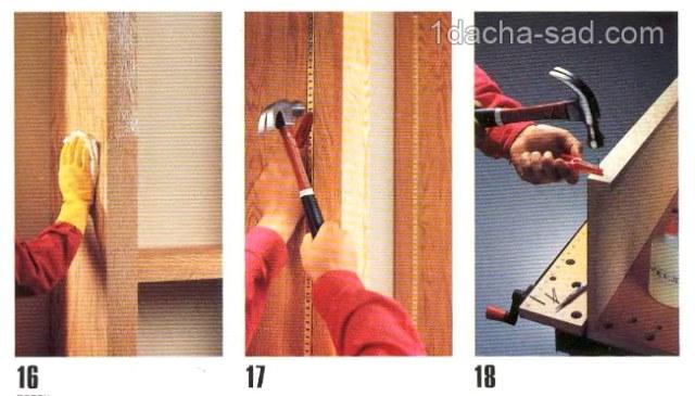 деревянные полки своими руками (2)
