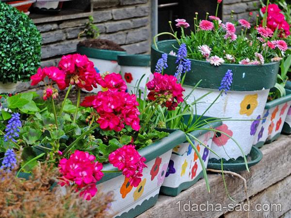 украшение сада своими руками фото (7)