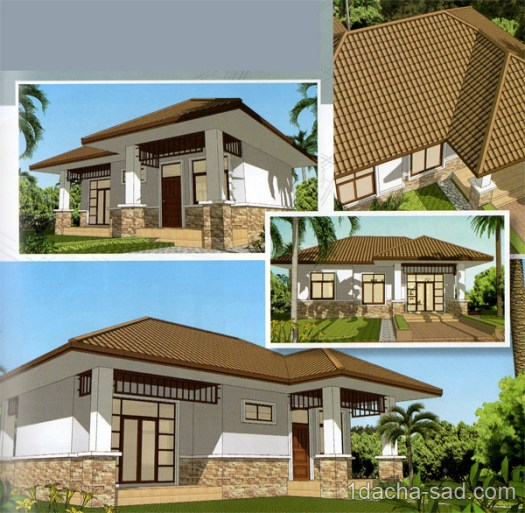 проект частного дома - внешний вид