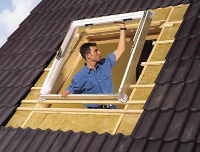 Окно в мансардной крыше