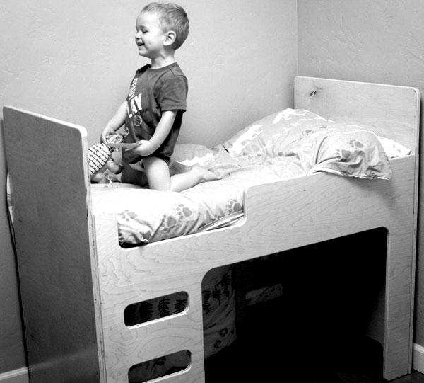 Детская ярусная кровать 2