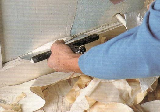 подготовка стен под покраску 1