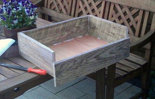 Прикроватная тумбочка ящик 10