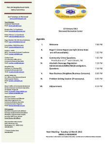 CAC Agendai