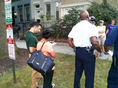 SE Community Safety Walk 081115