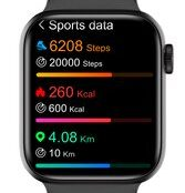 HIFUTURE-smartwatch-HiTIME-1.7534-IP68-heart-rate-monitor-μαύρο-1