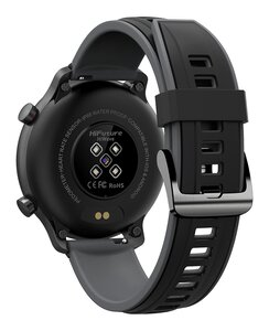 HIFUTURE-smartwatch-HiWAVE-1.334-IP68-heart-rate-monitor-μαύρο-1