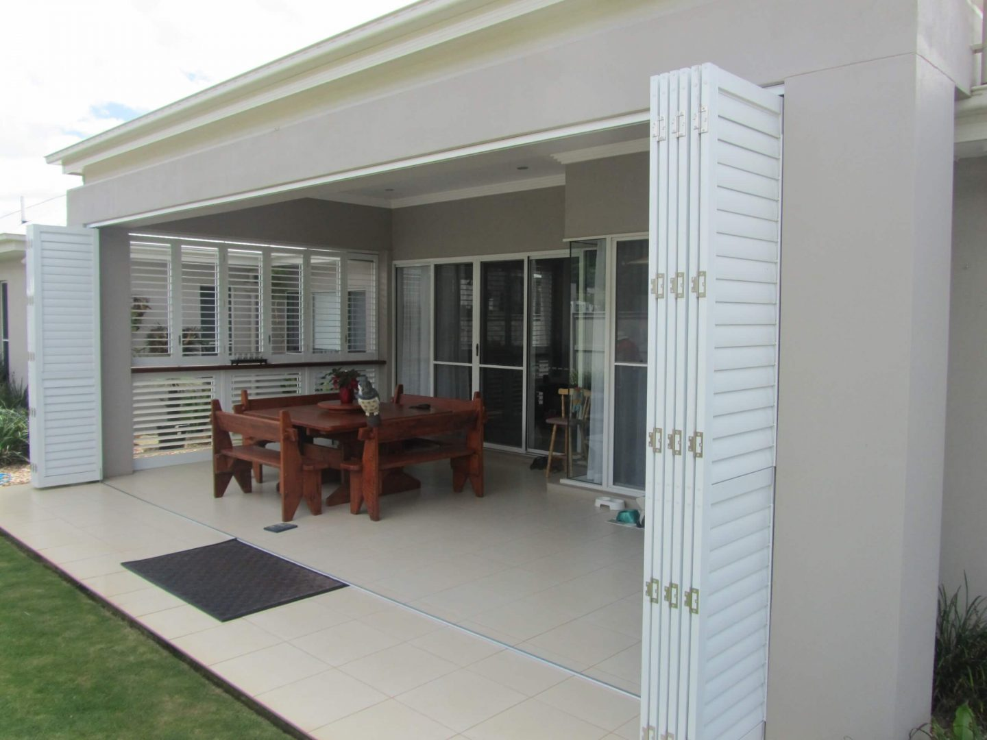 Outdoor Plantation Shutters Refresh Your Space