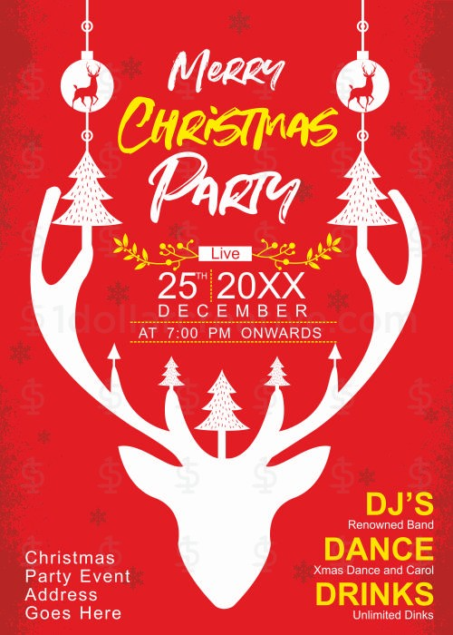 Christmas party invites-8