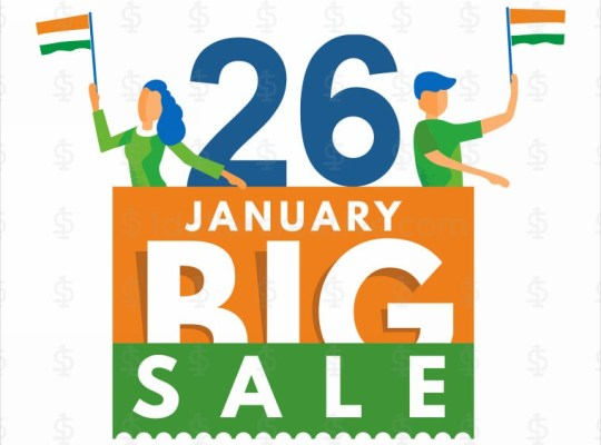 Republic Day Sale Greeting
