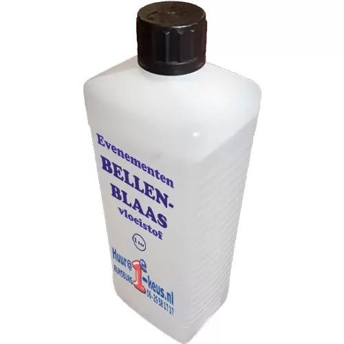 bubble liquid, bellenblaasvloeistof professioneel per liter