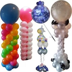 Ballonnenboog, ballonnenpilaar, prikballon, helium ballonnen