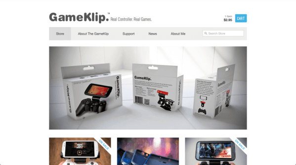 GameKlip Shopify Store