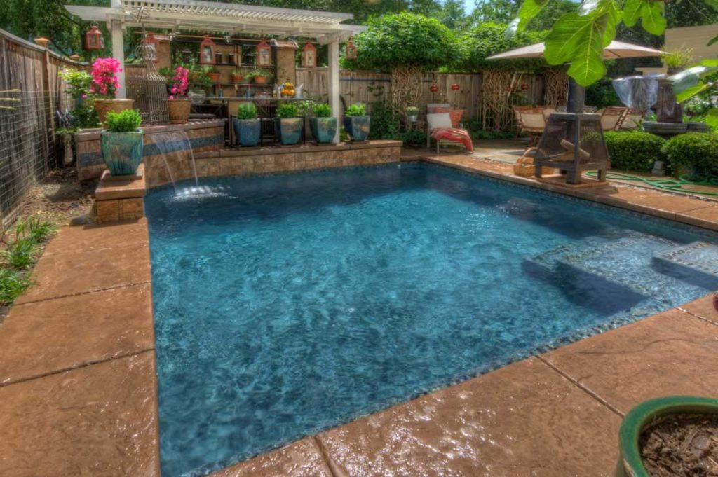 Square pool designs - Transform Your Yard into a Relaxing ... on Square Backyard Design Ideas id=18305