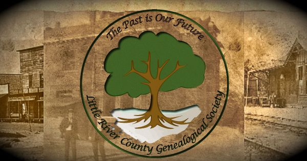 Little River County Genealogical Society presents ...