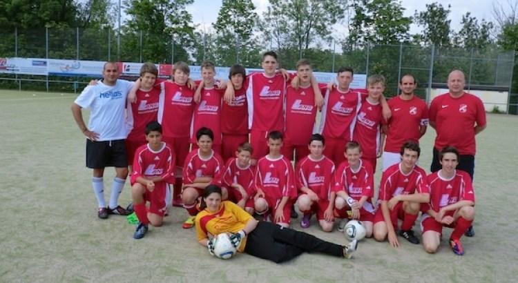 Die Meistermannschaft der C-Jugend