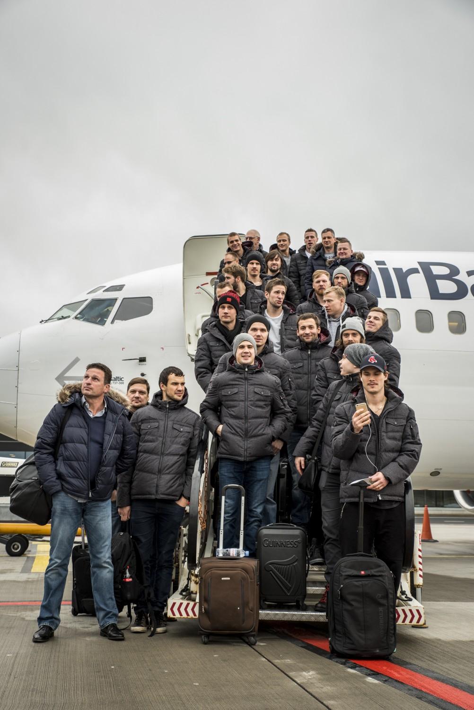 KV1_1213_1 Dinamo Rīga dodas uz izbraukuma spēlēm