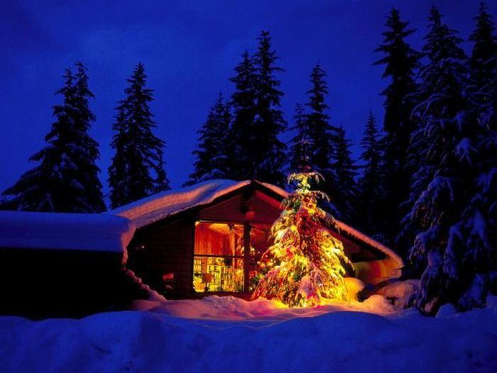 Outdoor Christmas Screensavers