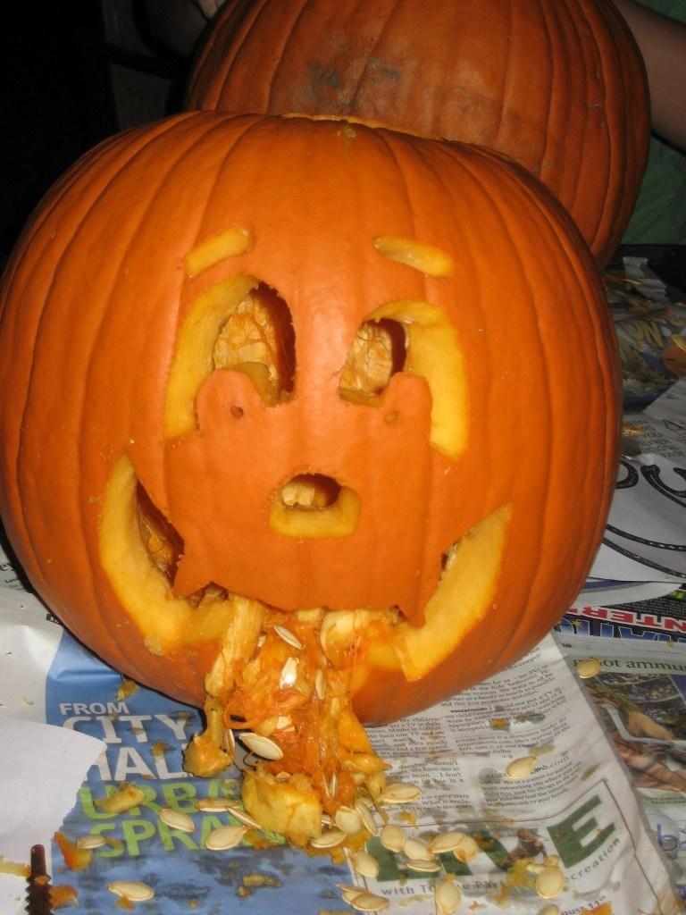 Puking Pumpkins 2 25 Pics