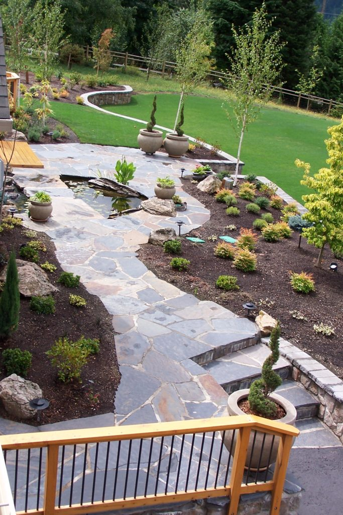 flagstone patios how to guide paving