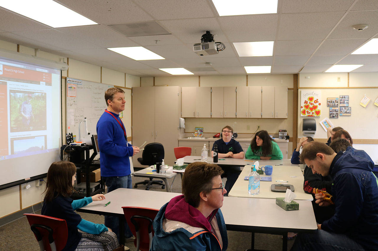 Mount Si High School S Transition Learning Center Prepares