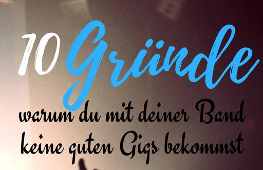 Tipps für Bands - Gigs