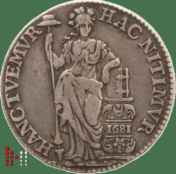Gulden Utrecht 1681