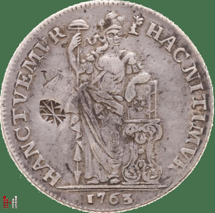 Gulden Gelderland 1763