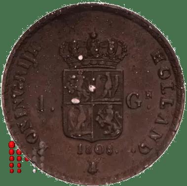 Gulden Napoleon 1808