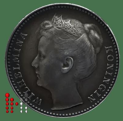 1 gulden 1899