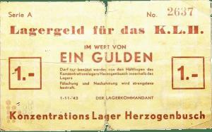 1943 1 Gulden