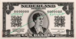 1945 1 Gulden