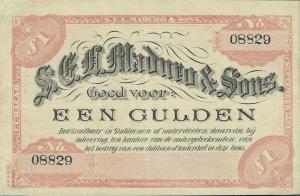 1893 Gulden Curacao
