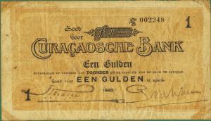 1920 Gulden Curacao