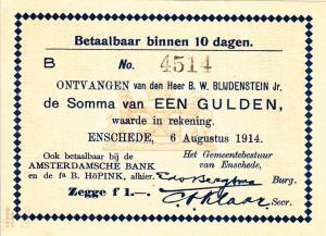 1914 Gulden Enschede