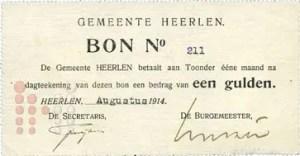 1914 Gulden Heerlen
