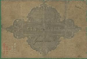 1865 Gulden Hessen