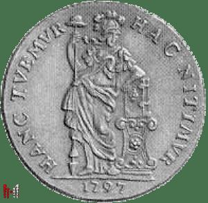 WIC 1797 Gulden Utrecht