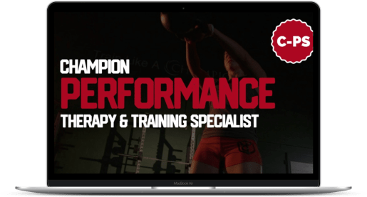 Champion Performance Specialist - laptop mockup