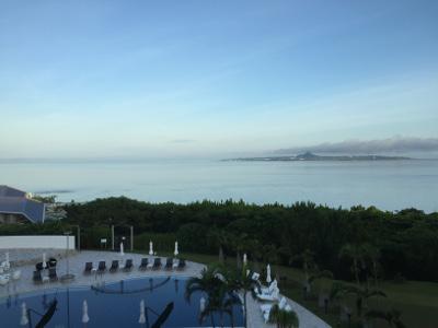 センチュリオンホテル窓から見える朝風景02