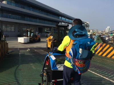 日本縦断の旅6日目鹿児島に上陸02